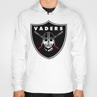oakland Hoodies featuring Oakland Vaders by Ant Atomic