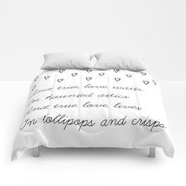 True love waits Comforters