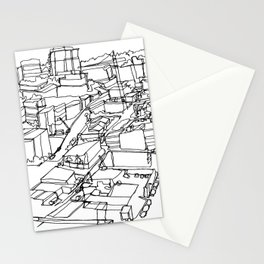 Vancouver, BC :: Single Line Stationery Cards