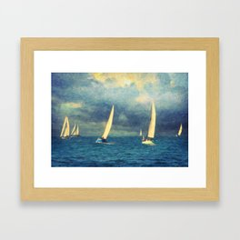 Chios Framed Art Print