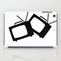 tv iPad Cases featuring TV by Aguirre & Jonnson