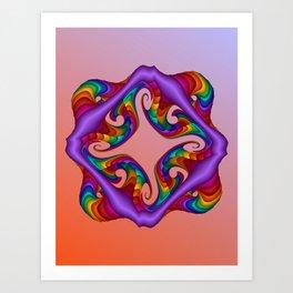 fluid -5- Art Print