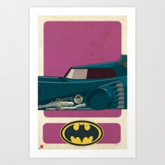 Batmobile 89 part II of III Art Print