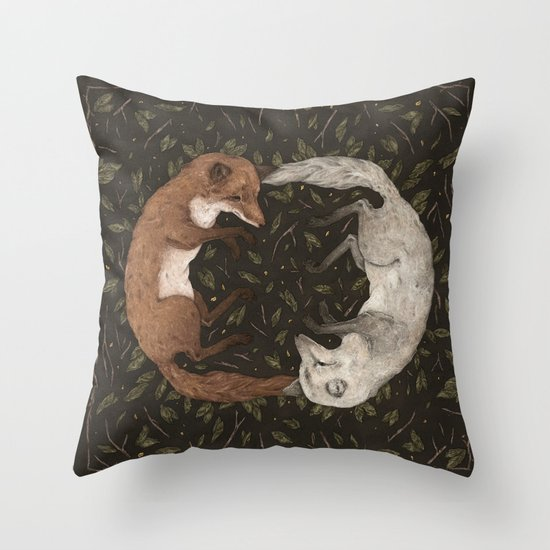 Foxes by jessicaroux