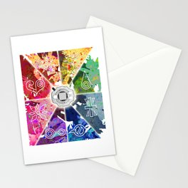DigiVolution Crests 20th Anniversary Stationery Cards