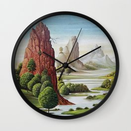 valley water Wall Clock
