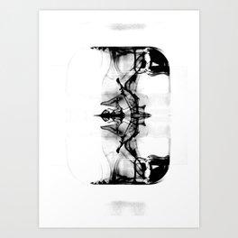 Black Reflections Art Print