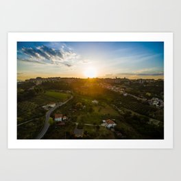 Goodnight, Chieti Art Print