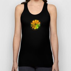 Orange Orchard Unisex Tank Top