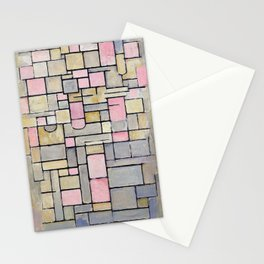 Composition 8 - Piet Mondrian Stationery Cards