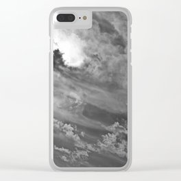Brewing Storm XI Clear iPhone Case