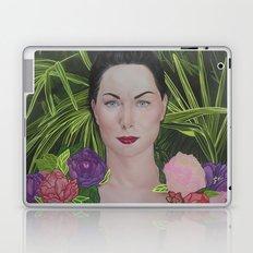 Peony portrait Laptop & iPad Skin