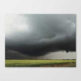 Funnel Cloud Canvas Print