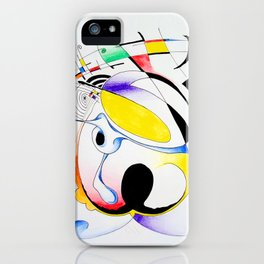 Shapes-1 iPhone Case