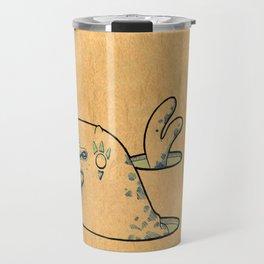 Foca con pesce Travel Mug