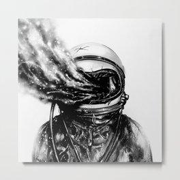Dead Astronaut Metal Print