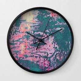 Rust Lust Wall Clock