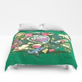 Let's Roll Link Comforters