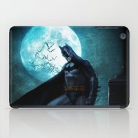 bat man iPad Cases featuring BAT man by Electra