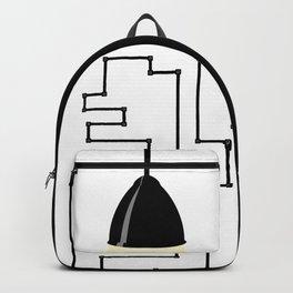 Really modern lamp Backpack