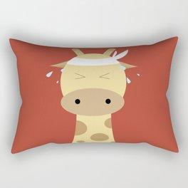 Giraffe - Running Rectangular Pillow
