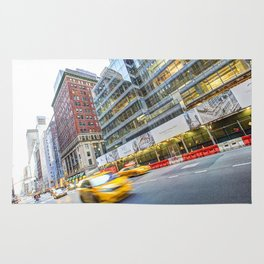 New York Street Scene Rug