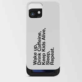 Keep them Alive. iPhone Card Case