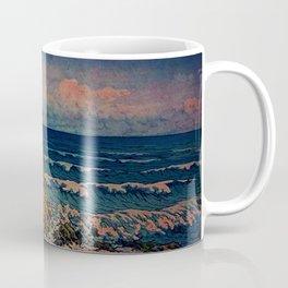 Bathing in Sunset Coffee Mug