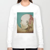 human Long Sleeve T-shirts featuring Human by Tyler Hayes