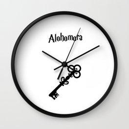 Alohomora Wall Clock