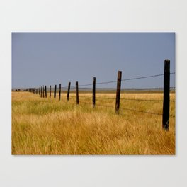Prairie Mile Canvas Print