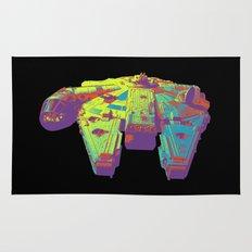 Millennium Falcon Bright Colors Rug