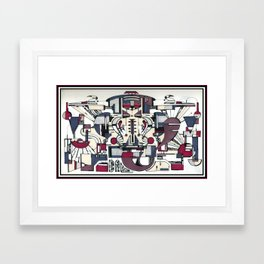 PROFETA Framed Art Print