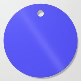 Bright Fluorescent Neon Blue Cutting Board