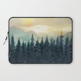 Forest Under the Sunset II Laptop Sleeve