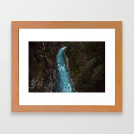 phakding, nepal Framed Art Print