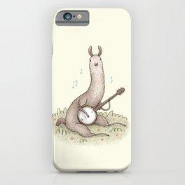 Banjo Llama iPhone Case