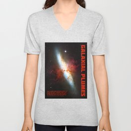 Galaxial Plumes Unisex V-Neck