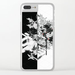 Schema 82 Clear iPhone Case
