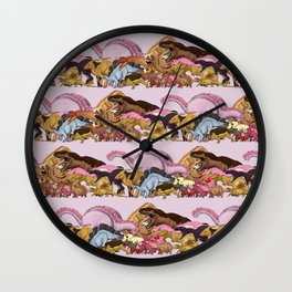 Jurassic Sweet   Deluxe Edition Wall Clock