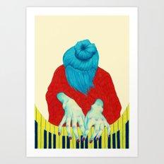 Piano Passion Art Print