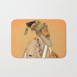 Indian Mughal with Sword Bath Mat