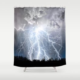 Sublime Jewel Shower Curtain