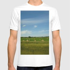 Summertime in WaterValley Mens Fitted Tee White MEDIUM