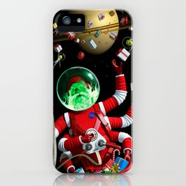 In space no one can hear you jingle iPhone Case