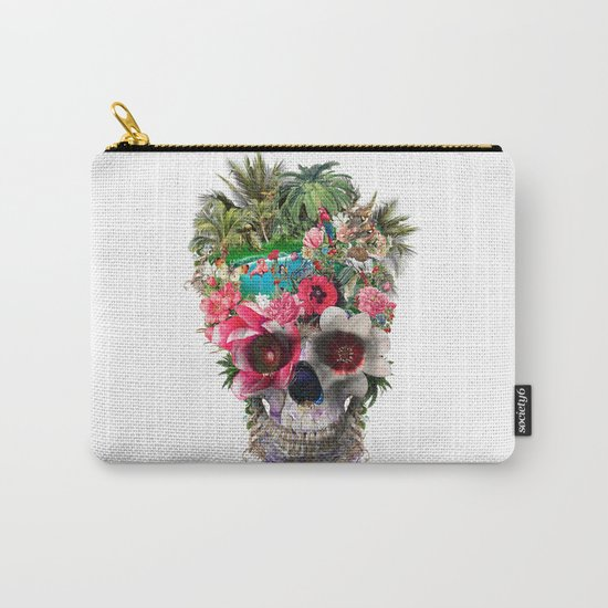 Summer Skull IV Carry-All Pouch