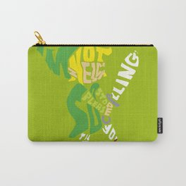 I'm not zelda, so please stop calling! thank you. Carry-All Pouch