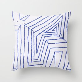 PowerLines 4 Throw Pillow