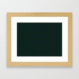 Sinclair Tartan Framed Art Print