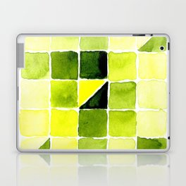 Color Chart - Lemon Yellow (DS) and Sap Green (DS) Laptop & iPad Skin